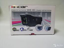<b>Видеорегистратор</b> с <b>радар</b>-детектором <b>incar</b> SDR-05 купить в ...