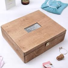 Memory Box Decorating Ideas personalised antiqued christening memory box by warner's end 15