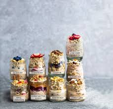 Check spelling or type a new query. Overnight Oats With 9 Flavor Options Life Made Sweeter