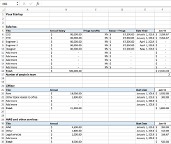 Excel For Startups Simple Financial Models And Dashboards