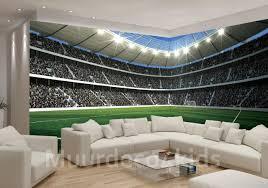 Voetbalstadion Fotobehang Hoek Afm 83 M X 254 Cm