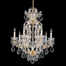 vinic lighting. Schonbek 5607 26 Wide 8 Light Candle Style Chandelier From The Maria Theres French Gold Indoor Lighting Chandeliers Vinic