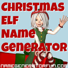 All The Holiday Fun Generator Name Christmas Elf For qrx0qU1