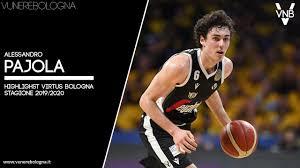 Alessandro Pajola - Highlights Virtus Bologna 2019/20 - Vu Nere Bologna -  YouTube