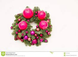 Advent Wreath Decorations Modern Advent Wreath Royalty Free Stock Images Image 17271379