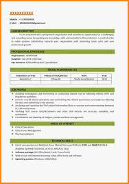 Resume Format 2018 resume formats 24 Besikeighty24co 5