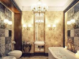 nice luxury bathroom with classic decoration accessories luxury bathroom