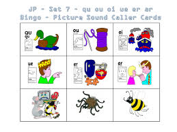 Live worksheets > english > english as a second language (esl) > phonics > jolly phonics groups i, ii, iii. Jolly Phonics Bingo Set 1 To 7 Teaching Resources