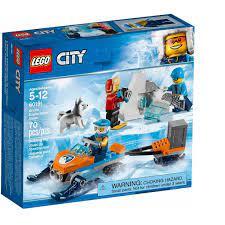 Đồ chơi lắp ráp LEGO CITY - Biệt Đội Thám Hiểm Bắc Cực, giá chỉ 237,000đ!  Mua ngay kẻo hết!