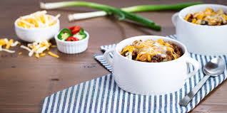 It's perfect on top of a hot dog, frito pie or on it's own for an easy dinner recipe. Texas Red Chili Cheese Bowls Cache Valley Creamery