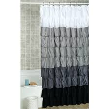 incredible striped shower curtain pottery barn shower then stone grey ticking stripe shower curtain navy blue