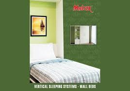 horizontal bed hardware