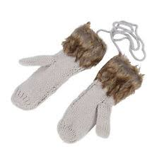 <b>Women's Faux Fur</b> Gloves and Mittens for sale | eBay