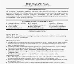 Technical Manager Resume New Template 10 Best Best Project Manager