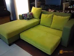 sofa l bed minimalis tangerang selatan jualo