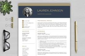 It Modern Resume Modern Resume Template Cv With Cover Letter