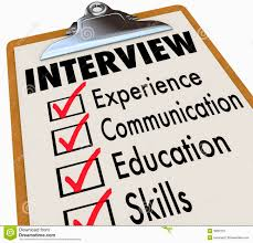 job checklist clipart clipartfest behaviour based interviewing
