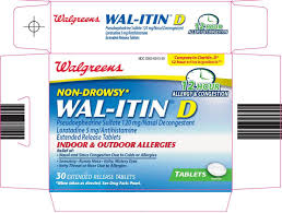 Wal Itin Dosage Chart Wal Itin D Tablet Extended Release Walgreen Company