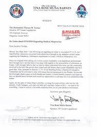 Folow Up Letter Speakers Follow Up Letter Guam News Postguam Com