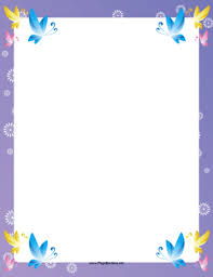 Small Picture The corners of this fancy printable border feature pretty