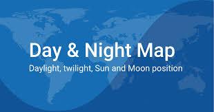 Sun Movement Chart Day And Night World Map
