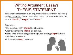 persuasive essay thesis statement examples thesis statement template lektire us