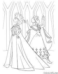 Principessa Elsa Da Colorare Playingwithfirekitchencom