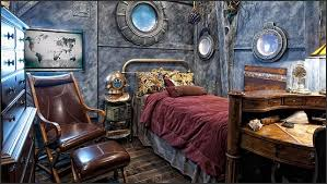Steampunk decorating ideas - Victorian punk rock style creates the steampunk  theme - steam punk Industrial