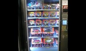 Sandwich Vending Machine Singapore Mesmerizing PictoVista 48 Most Unusual Vending Machines All Over The World