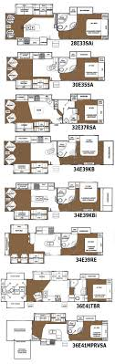 17 best images about rving double bedroom the road glendale titanium fifth wheel floorplans 8 layouts
