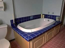 replacing a bathtub with a deck tub