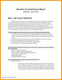 Sample Staff Evaluation Impressive Process Accomplishment Report Template Sample Deped Project On