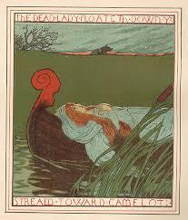 enjoying the lady of shalott by alfred tennyson