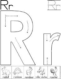Pattern Block Template Delectable Alphabet Letter R Worksheet Standard Block Font Preschool