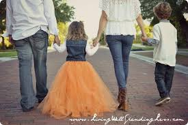 your little one will stand out in family photos wearing her cute full tulle skirt