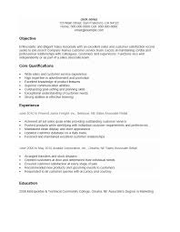 Free Customer Service Associate Resume Template Sample Ms Word