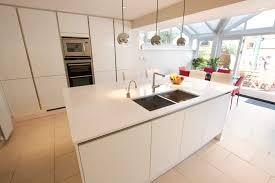 german kitchens west london. handleless white gloss acrylic kitchen german kitchens west london