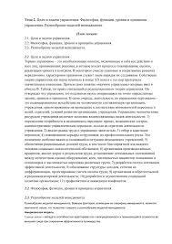 Цели и задачи управления Философия функции уровни