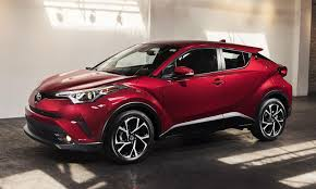 Toyota reveals U.S.-spec C-HR compact crossover with gasoline ...