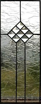 clear textured glass is accented with little bevels door texture69 door
