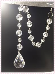 crystal ball chandelier parts roselawnlutheran 180chains crystal chandelier parts 30cm faceted ball strand garland 38mm pendant