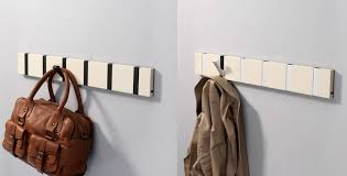 Flip Coat Rack Beauteous Flip Down Coat Hooks Sevenstonesinc