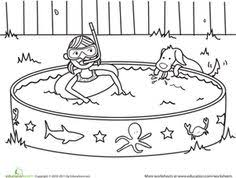 Small Picture Summer Coloring Pages Summer coloring pages help kids develop