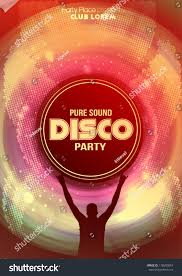 Flyer Background Template Disco Party Flyer Background Template Vector Stock Photo Photo 13