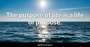 Purpose Of Life Quotes Best The Purpose Of Life Is A Life Of Purpose Robert Byrne BrainyQuote