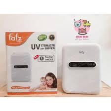 Máy tiệt trùng sấy khô FATZ UV 17L - FB4706SL (trắng) - Máy tiệt trùng, hâm  sữa Thương hiệu Fatz baby