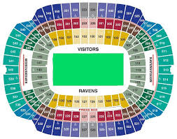 San Francisco 49ers Seating Chart 3d Baltimore Ravens Seating Chart Seat Views Tickpick