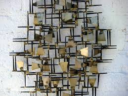wall art designs wall metal art a vintage 1960s hand wrought throughout best and newest on abstract geometric metal wall art with 2018 popular abstract geometric metal wall art