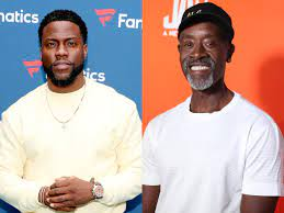 Don Cheadle and Kevin Hart REACT to ...