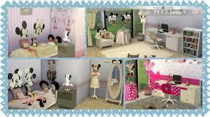Kids' Furniture Bedroom Minnie Mouse FabyandJenni (19 items) - The Sims 4  Catalog
